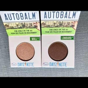 2 The Balm Cosmetics eye shadows